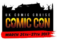 UK Comic Cruise 2017  - UK's first comic con at sea!
