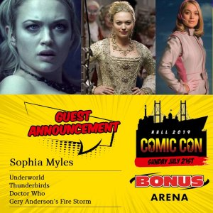 Hull Guest Announcement: Sophia Myles