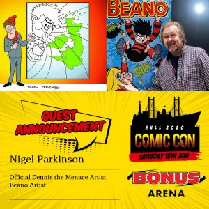 Hull Comic Con 2020 Guest: Nigel Parkinson